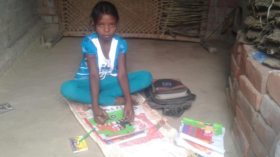 Education Learning Kit Distributed to Project Children( ChildFund India)